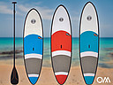 Ocean & Earth SUP epoxy boards with soft non-slip foam surface