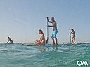 SUP surfing is easy and fun