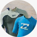 Billabong wetsuit and rash vest